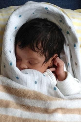 Blue Ivy Carter nasceu no dia 8 de janeiro de 2012