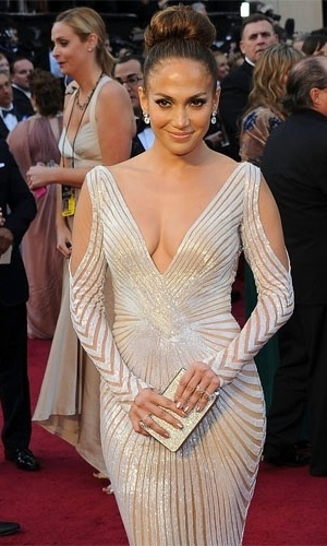 Jennifer Lopez no Oscar 2012 (26/2/12)