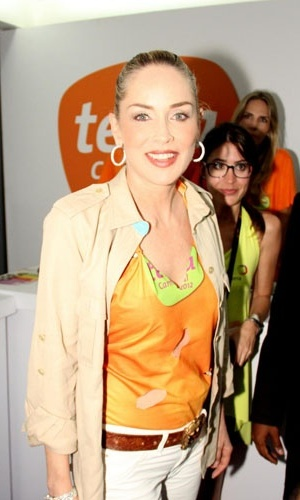 Sharon Stone Carnaval Salvador &#40;18/2/12&#41;