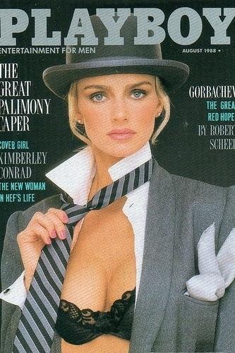 """Kimberley Conrad voltou a ser destaque da """"Playboy"""" em 1989."""