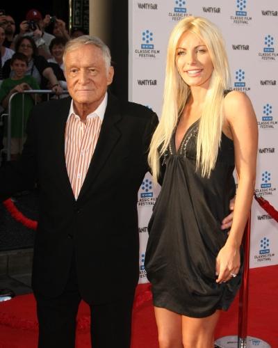 Mesmo com o fim do relacionamento, Crystal e Hefner continuaram amigos e o milionário garantiu que não guardava mágoas da ex-namorada