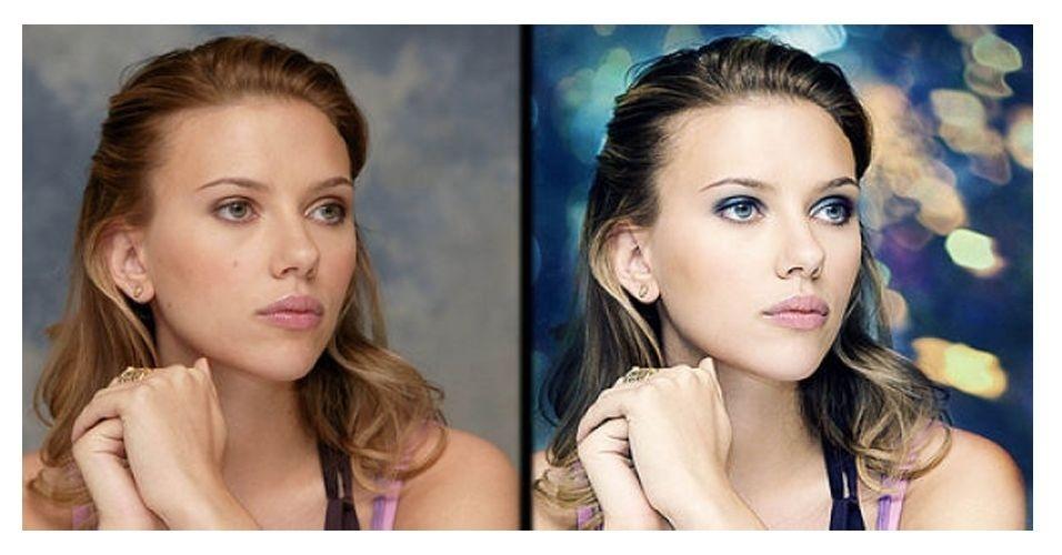 Fotos de famosas antes e depois do Photoshop | Um …