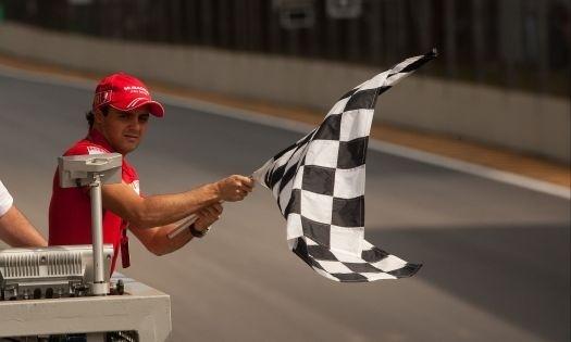Fora do restante da temporada 2009, Felipe Massa pôde fazer uma participação especial na bandeirada final do GP do Brasil de 2009, no Autódromo de Interlagos, em São Paulo. O piloto britânico Jenson Button, da Brawn GP, chegou em quinto lugar e se sagrou campeão (18/10/09).