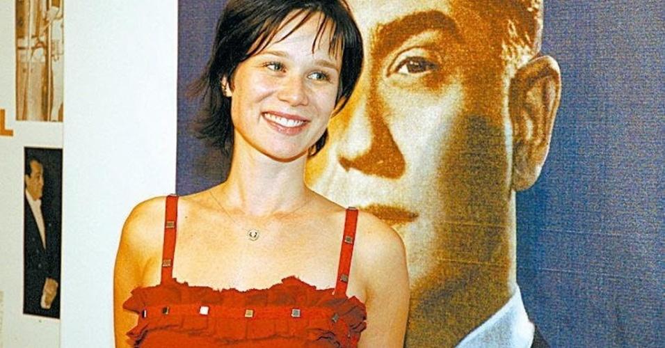 "Em 2006, Mariana Ximenes deu vida ao papel de Lilian Gonçalves na minissérie ""JK"", exibida pela Globo (30/12/05)"