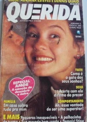 Adriana Esteves na &#34;Querida&#34; - junho de 1991