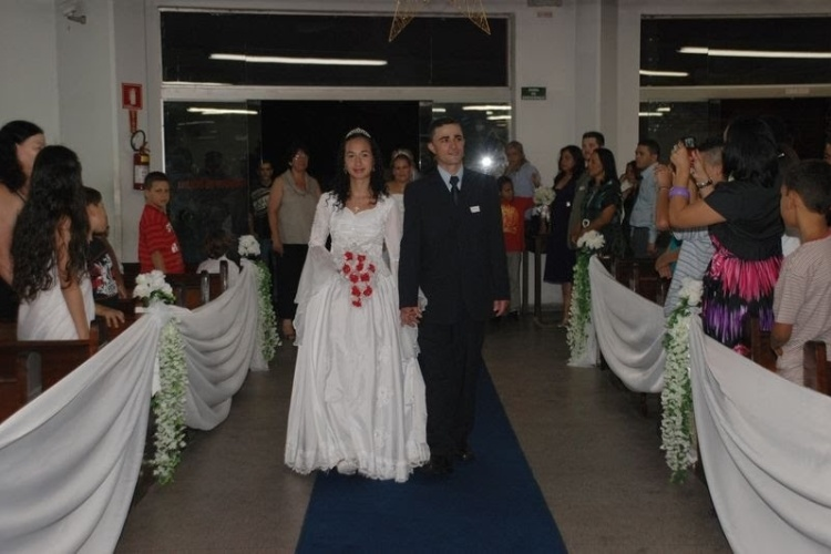 No dia 17 de maio de 2008, Daniela da Silva Camargo Simplicio se casou com Celso Simplicio Camargo Costa, em Santa Catarina.