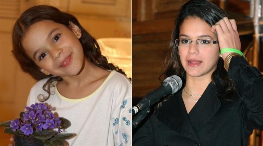"""Bruna Marquezine estreou nas novelas aos sete anos, como a Salete de """"Mulheres Apaixonadas"""""""
