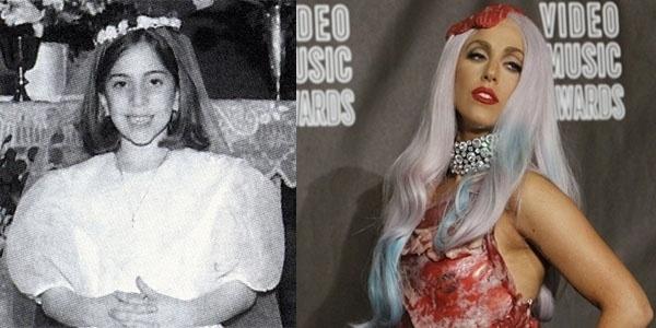 De vestido de coroinha para um bizarro traje feito de carne crua. A cantora Lady Gaga deu, e ainda vai dar muito o que falar ao longo de sua trajetória