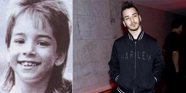 Ele transformou o visual, de estilo chitãozinho a moicano, e também mudou de estilo musical, do sertanejo com a irmã Sandy ao manejo da bateria do grupo de rock alternativo Nove Mil Anjos