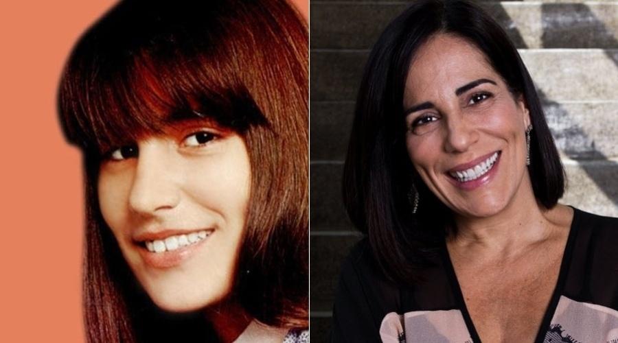 """Glória Pires estreou na televisão aos cinco anos de idade, fazendo a novela """"A Pequena Órfã"""". Na foto à esquerda, a atriz, adolescente, já era quase uma veterana!"""