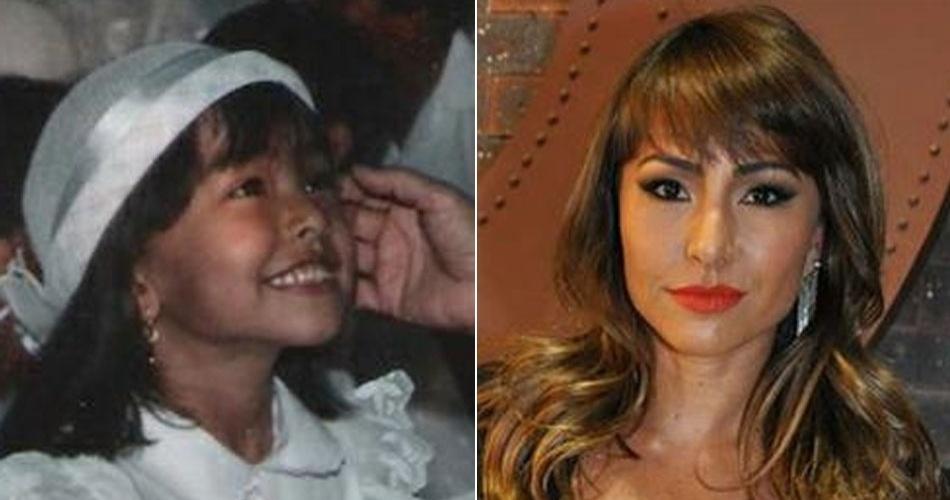 Sabrina Sato já mostrava a simpatia desde pequena