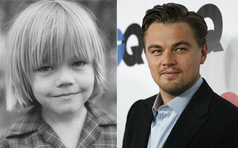 Você acha que Leonardo DiCaprio já tinha um certo ar de galã ainda menininho?