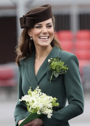 19- Duquesa de Cambridge (Kate Middleton), a esposa do Duque de Cambridge (Príncipe William)