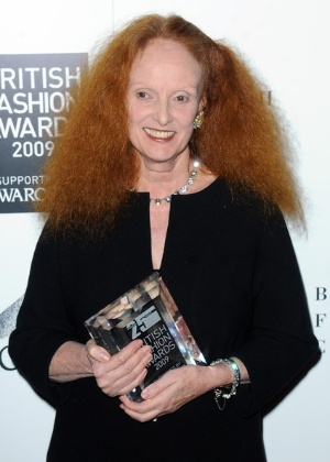 "31- Grace Coddington, diretora criativa da ""Vogue"" americana."