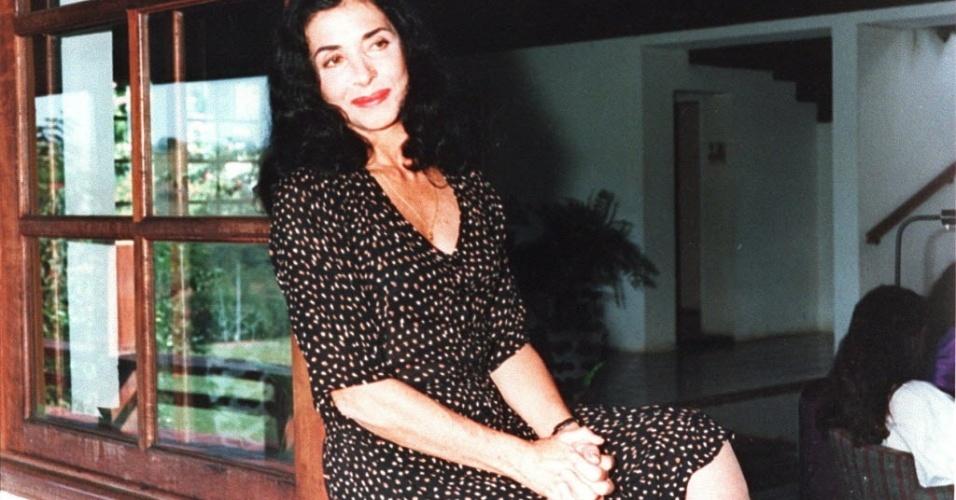 1997 - A atriz Betty Faria posa para foto