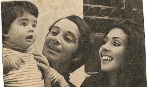 Betty Faria foi casado com o ator Cláudio Marzo, com quem teve a filha Alexandra Marzo (foto)