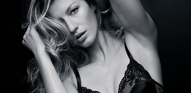 Gisele Bndchen posa para campanha de sua prpria marca de lingerie
