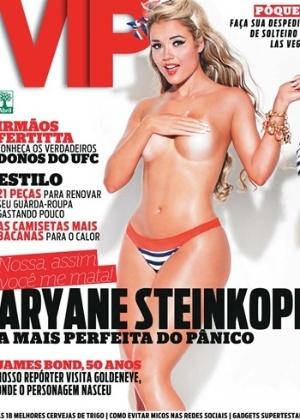 Fevereiro de 2012 - Aryane Steinkopf (ex-panicat)