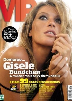 Novembro de 2008 - Gisele Bündchen