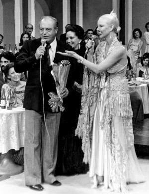 1978 - Elke Maravilha, Airton Rodrigues e Lolita Rodrigues em 'Almoço com as Estrelas'