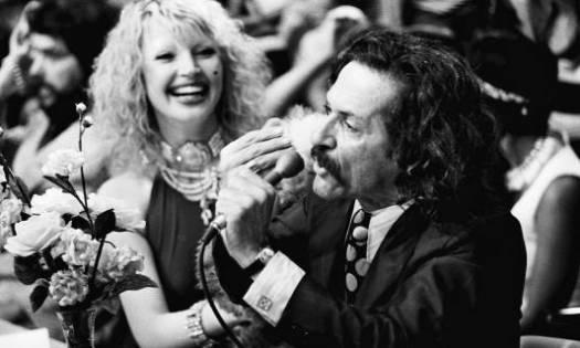 1972 - Elke Maravilha e Pedro de Lara no programa 'Buzina do Chacrinha'