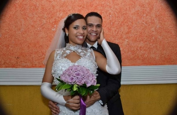 &#34;Estamos muitos felizes, casamento se constr&#243;i a cada dia!&#34;, disse Ingrid de Cassia Vicente de Jesus, que se casou com Kleber Augusto Pereira de Jesus no dia 2/4/11, em S&#227;o Paulo (SP).