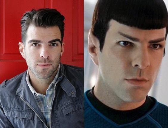 O ator Zachary Quinto (da série de TV 'Star Trek') diz que sente uma série de emoções depois de se assumir gay