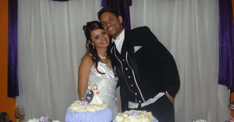 Vanessa Martins e Jos&#233; Carlos casaram-se no dia 30/7/11, em S&#227;o Paulo (SP).