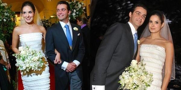 Carlos Biasi e Mariana Renner Biasi casaram-se no dia 18/2/12, em Alphaville (SP).