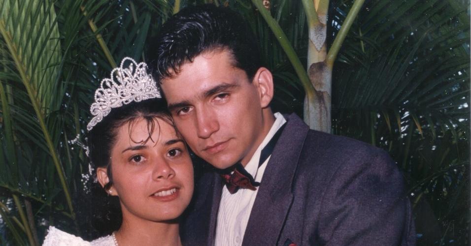Maria Cícera de Oliveira França e Jó Angelo França casaram-se no dia 9/12/95, em Jundiaí (SP).