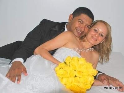 Shirley Pereira e Reinan Lopes casaram-se no dia 14/5/10, em Palmas (TO).