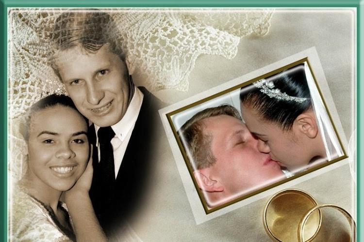 Ana Paula da Silva Gmack e Joary Gmack se casaram no dia 28 de abril na cidade de Iretama (PR).