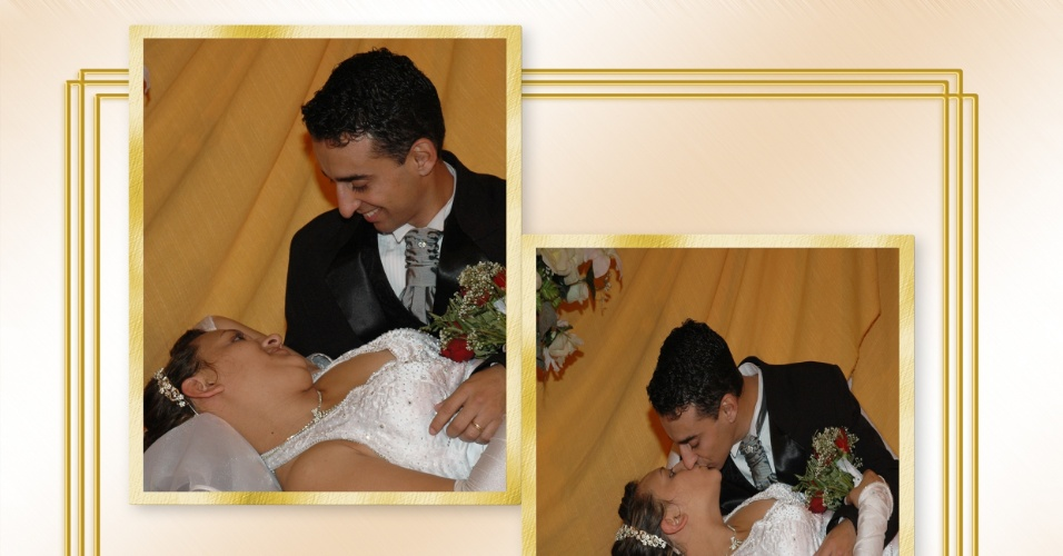 Dineia Oliveira da Silva de Lima e Jarbas Bueno de Lima se casaram no dia 27 de maio de 2007 no Salão da Oktorberfest, em Santa Rosa (RS).