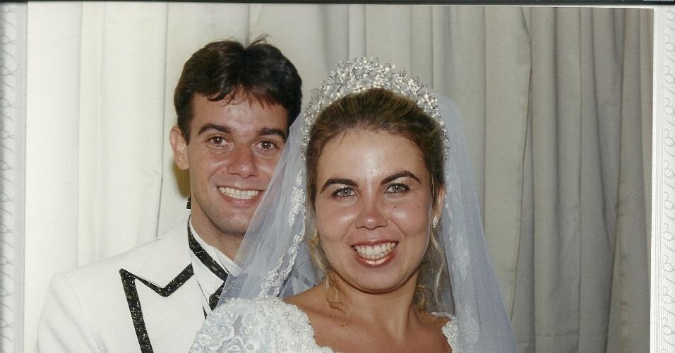 Janaina Inacio Leite Santos Lopes se casou com Rafael Carlo Santos Lopes no dia do aniversário da sogra, 10 de março de 2001. A cerimônia ocorreu na Igreja Assembleia de Deus, na Penha, no Rio de Janeiro.