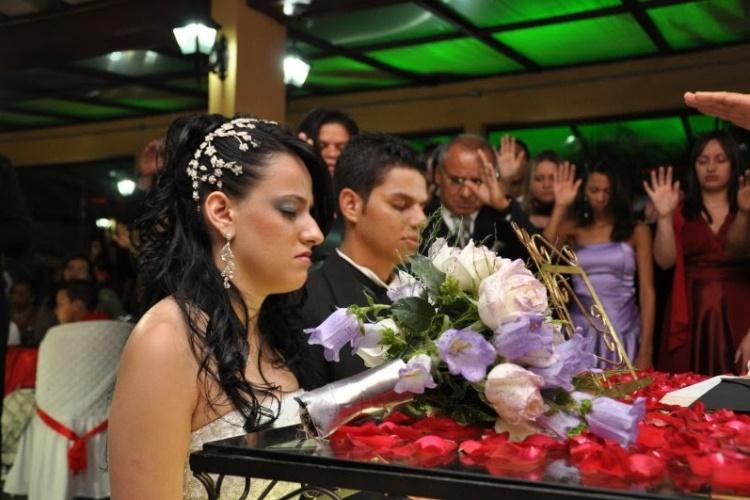 Wivian Tayla de Souza Paiva e Gerry Adriano Rodrigues de Souza Paiva oficializaram a união no dia primeiro de maio de 2010 no Recanto do Paraíso, em Guarulhos (SP).