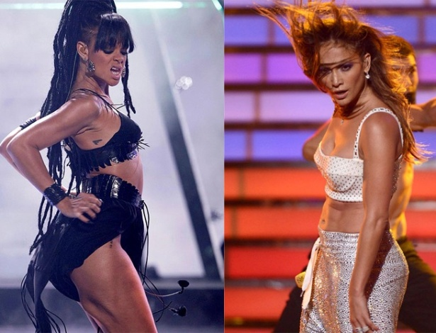Rihanna e J-Lo na final do 'American Idol'