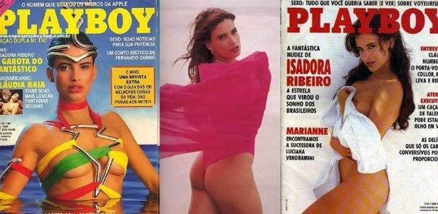 A beleza da moça chamou a atenção da revista 'Playboy', que a convidou para ser capa da publicação duas vezes, em 1989 e 1991