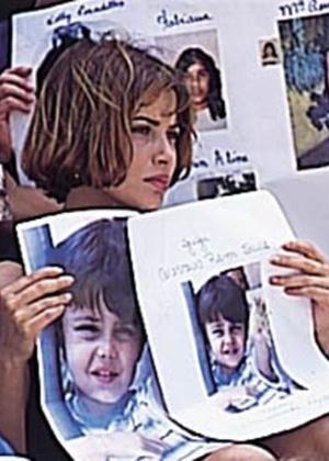 Isadora Ribeiro no papel de Odaísa, na novela 'Explode Coração', de 1995. Na trama, ela comoveu o Brasil no papel da mãe que tentava encontrar o filho sequestrado
