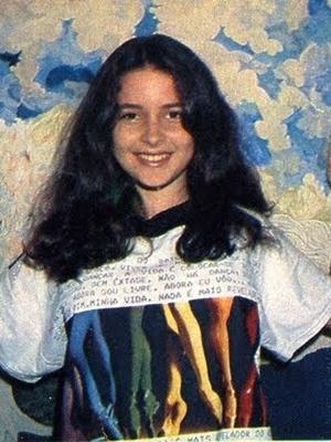 """Claudia Abreu em foto de divulgação de """"O Outro"""" (1987)"""