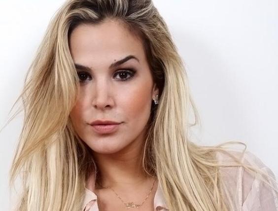 Robertha Portella fez um ensaio fotográfico pouco antes de integrar o elenco do reality show