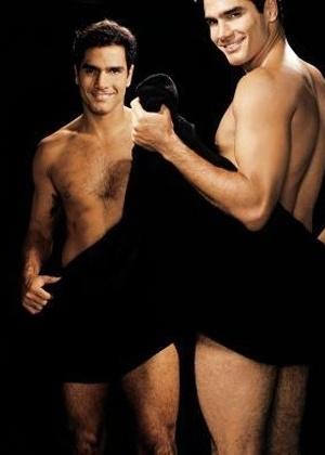 """Edição da revista """"Nova"""" de setembro de 2007 publicou fotos sensuais de galãs da TV dizendo o que mais gostam nas mulheres. Rafael Calomeni afirmou que gosta de mulher independente, batalhadora e que tenha panturrilha grossa"""