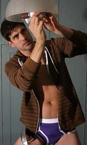 "Reynaldo Gianecchini fez ensaio sensual para a revista ""Gloss"" (dez/2008)"