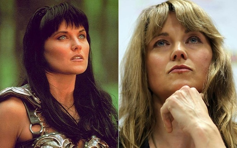 A atriz Lucy Lawless, conhecida por interpretar a guerreira Xena &#40;esq.&#41; na s&#233;rie de televis&#227;o de mesmo nome nos anos 1990, esteve no Brasil para o lan&#231;amento da campanha &#34;Salvar o &#193;rctico&#34;, que visa a acabar com a pesca industrial e a explora&#231;&#227;o petrol&#237;fera. O manifesto do Greenpeace aconteceu durante a Rio+20 &#40;21/6/12&#41;