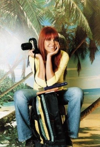 A apresentadora Fernanda Lima (2003)