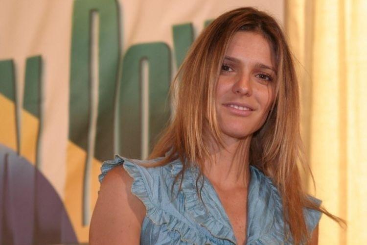 Fernanda Lima participa da coletiva dos artistas que participaram do Brazilian Day em Nova York (2006)