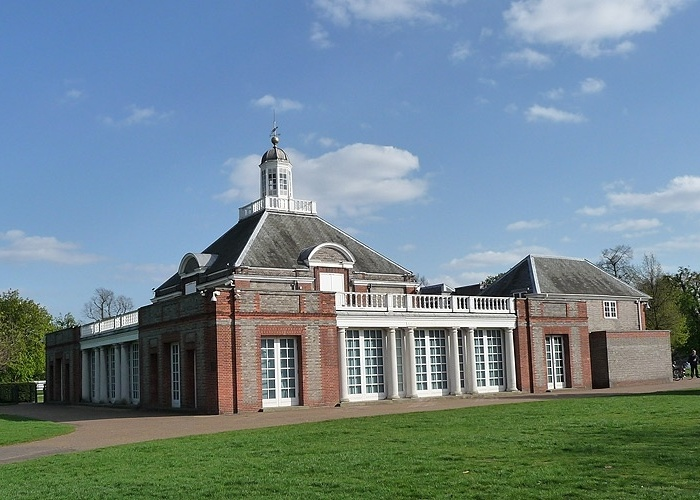 Serpentine Gallery, uma das galerias de arte mais importantes de Londres, localizada no Hyde Park.