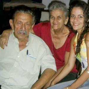 """""""Minha avó exemplo de família e mulher batalhadora"""", conta Fátima Elena Façanha Marques, neta de Helena Façanha, de Maranguape (CE)."""