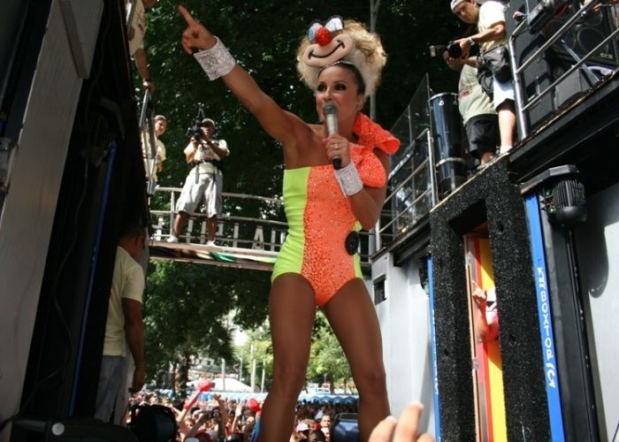 Claudia Leitte no carnaval de Salvador, na Bahia &#40;2010&#41;
