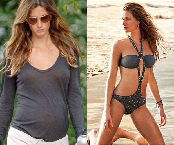 Gisele B&#252;ndchen deu &#224; luz Benjamin em janeiro de 2010. Quatro meses depois, a modelo j&#225; desfilava novamente pelas passarelas com o corpo em dia. A&#233;m disso, a beldade chegou a estrelar uma campanha de lingeries da Hope, marca que leva o seu nome no Brasil