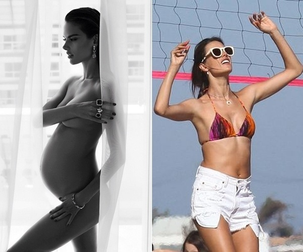 Uma das modelos mais famosas do mundo, Alessandra Ambr&#243;sio foi fotografa jogando v&#244;lei nas areias de Malibu, na Calif&#243;rnia &#40;EUA&#41;. A top surpreendeu ao exibir a boa forma, poucos meses ap&#243;s o nacimento de Noah, seu filho de dois meses, fruto do casamento da modelo com o empres&#225;rio californiano Jamie Mazur